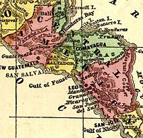 Crop of Image:CentralAmerica1860Map.