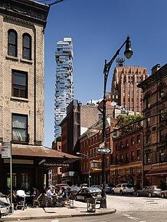 56 Leonard Street skyscraper in New York City