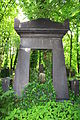 598683 Wrocław Cmentarz Żydowski, nagrobki 07.JPG