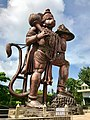 61 feet colossal Hanuman south Karnataka India 2.jpg