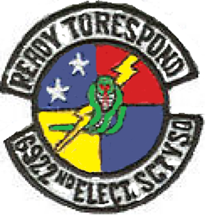 315th Cyberspace Operations Squadron - Image: 6922 Electronic Security Sq emblem