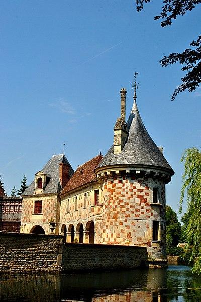 le câté de Saint-Germain-de-Livet dauns le Calvados.