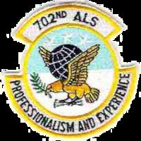 702d Airlift Squadron USAF - Emblem