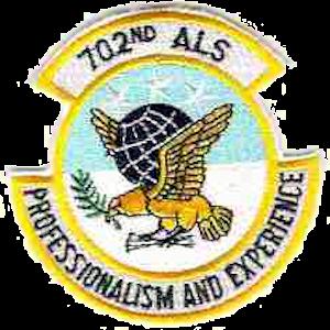 Joseph McNeil - Image: 702d Airlift Squadron USAF Emblem
