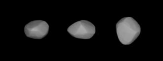 85 Io - Lightcurve-based 3D-model of Io