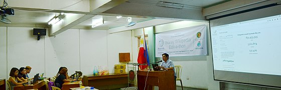 8th Waray Wikipedia Edit-a-thon 08.JPG