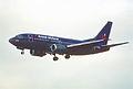 95et - British Midland Airways Boeing 737-59D; G-OBMX@LHR;01.06.2000 (5276276289).jpg