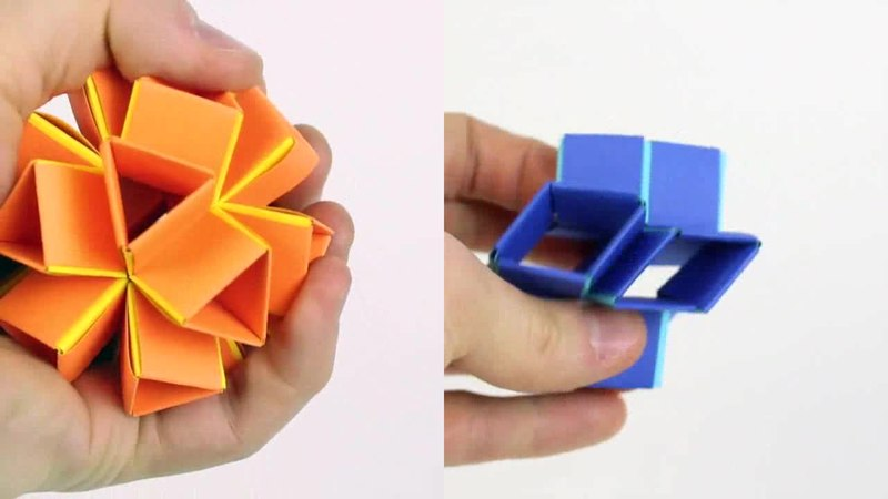 Filea Three Dimensional Actuated Origami Inspired Transformable
