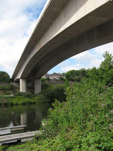 A4055 viaduct
