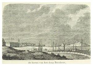 Breskens - Breskens, c. 1855.