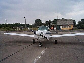 Peenemünde Airfield - AA5 Traveller at Peenemünde airfield