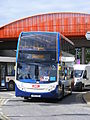 AE12 CKD Stagecoach Peterborough Citi Enviro 400 10012, Olympic games vehicle (7616942824).jpg