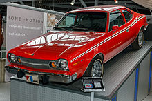 The Amc Hornet X From The Man With The Golden Gun