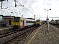 AR 4181 (S52) et AM 08060 (train P Ath) - Gare de Grammont - 2019-08-19.jpg