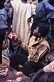 ASC Leiden - W.E.A. van Beek Collection - Dogon markets 30 - A young butcher at Tireli market, Mali 1985.jpg