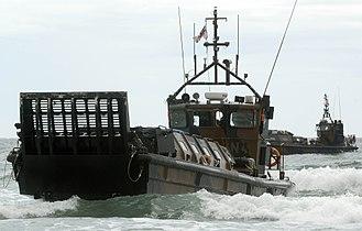 Her Majesty's Naval Service - Image: A Royal Marine LCVP Landing Craft MOD 45150169