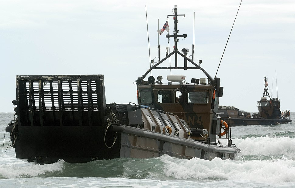 A Royal Marine LCVP Landing Craft MOD 45150169