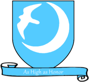 Petyr Baelish - Coat of arms of House Arryn