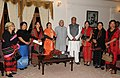 A delegation of Naga Mother`s Association meeting the Vice President, Shri Mohd. Hamid Ansari, in Kohima, Nagaland on September 19, 2010.jpg