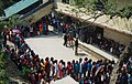 A large number of voters in a queue to cast their vote, at a polling booth during the 4th Phase of Lok Sabha General Elections-2014, in Sikkim on April 12, 2014.jpg