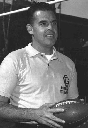 Otto Graham - Otto Graham as head football coach and athletic director at U.S. Coast Guard Academy in 1959