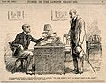 A well known doctor giving a prescription to a patient and t Wellcome V0011530.jpg