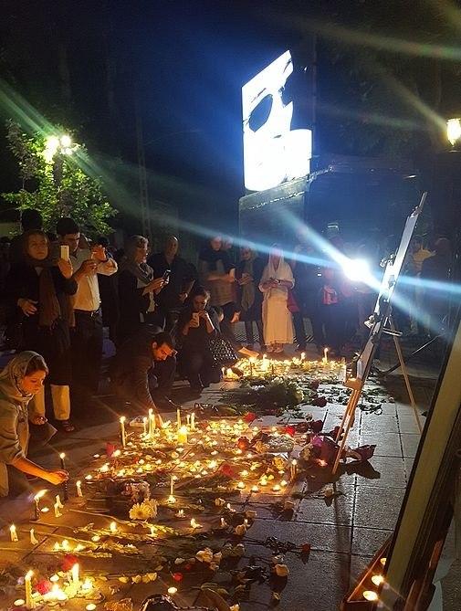 Abbas Kiarostami memorial at Cinema Museum 16