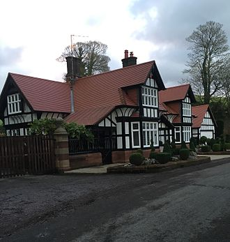 Abbot's Wood, Cumbria - The South Lodge is one of three listed buildings of the Abbot's Wood estate that survives the original mansion