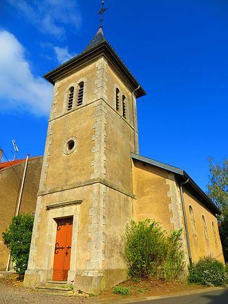 Aboncourt-sur-Seille - The church in Aboncourt-sur-Seille