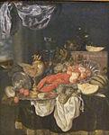 Abraham Hendriksz. van Beyeren - Grosses Stilleben mit Hummer.JPG
