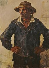 Gourlaouen, pêcheur de Pont-Aven