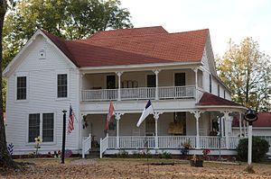 National Register of Historic Places listings in Bradley County, Arkansas - Image: Adams Leslie House