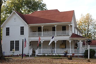 National Register of Historic Places listings in Bradley County, Arkansas - Image: Adams Leslie House