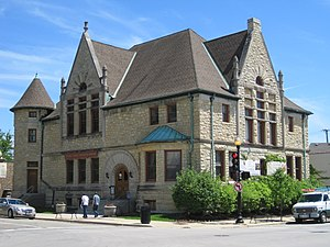 National Register of Historic Places listings in DuPage County, Illinois - Image: Adams Memorial