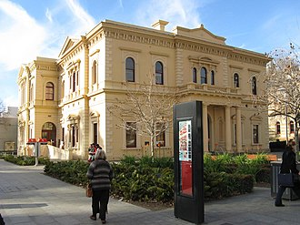 State Library of South Australia - Home of the library before the building of the Mortlock Wing