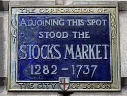 Adjoining this spot stood the stocks market 1282   1737
