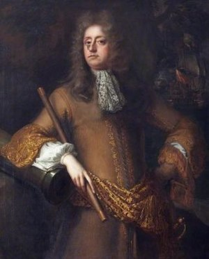 Arthur Herbert, 1st Earl of Torrington - Arthur Herbert, 1st Earl of Torrington, portrait by John Closterman