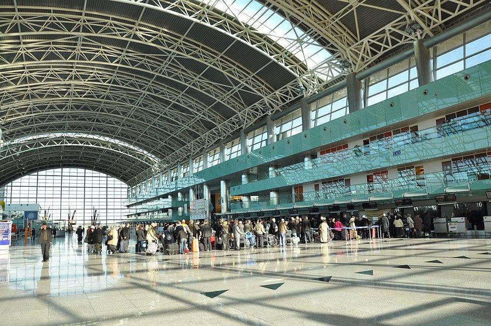 Adnan Menderes Havalimanı İç Görünüm
