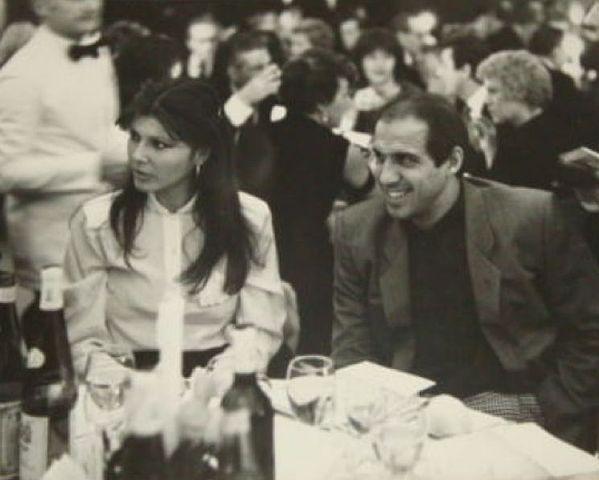 Адриано Челентано и Клаудия Мори в 1970 году