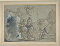 Aeneas and the Cumaean Sibyl Entering the Infernal Regions MET DP811379.jpg