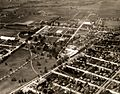 Aerial view of Oregon State College campus, 1930 (6443598023).jpg