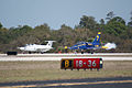 Aero Vodochody L-39C Albatros and L-29 Delfin Beetle Takeoff 01 TICO 13March2010 (14596098041).jpg