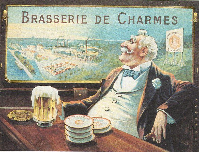 Fichier:Affiche de la Brasserie de Charmes.jpg