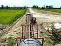 Aggregate conveyor, near Cricklade - geograph.org.uk - 441232.jpg