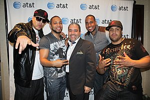 Lo Nuestro Award for Artist of the Year - American band Aventura, the inaugural winners of the category