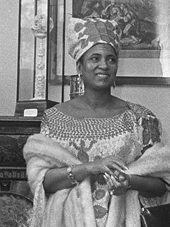 wife of Hamani Diori from Niger
