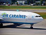 Air Caraïbes Airbus A330-323E - F-OONE (ZRH) (20029299123).jpg