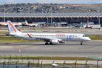 Air Europa, Embraer ERJ-195LR, EC-KYP - MAD (18343900841).jpg