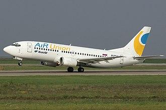 KrasAir - Image: Air Union Boeing 737 300