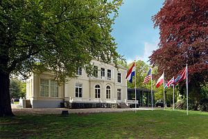 Airborne Museum 'Hartenstein' - The Airborne Museum Hartenstein, formerly the Hotel Hartenstein and the HQ of 1st Airborne Division during the Battle of Arnhem.
